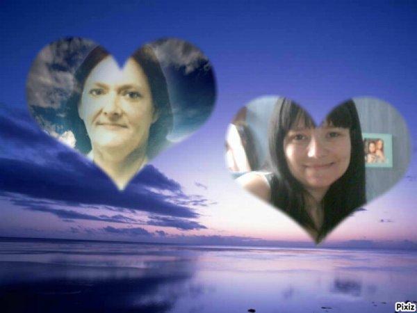 mes deux ange amoi partie trop tot  ma maman et ma meilieur amie qui manque tropppppppppp