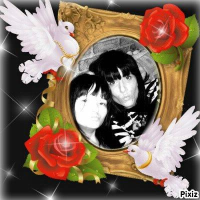 elle et sa grande soeur cynthya