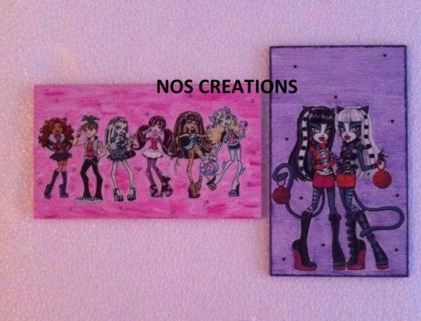 Plaques Monster High