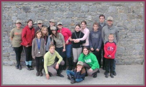 Les écuries de la Chapelle : Une grande famille !