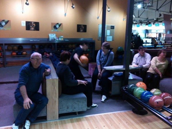 soirée bowling.