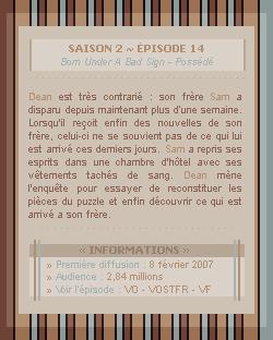 ♣ HuntersWinchester''~ Saison 02 - Épisode 14''. . . . . . . . . . . . . . . . . . . . . . . . . . . .''Création | Décoration | Newsletter