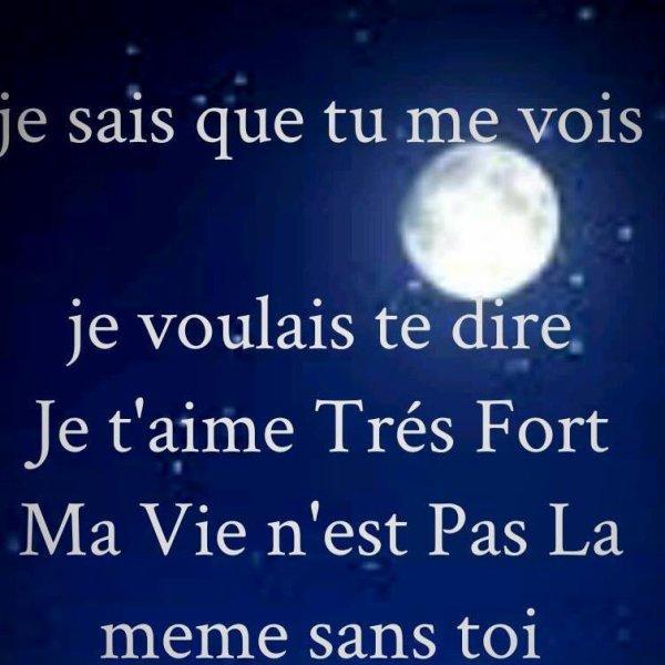 Citation Papa Tu Me Manque