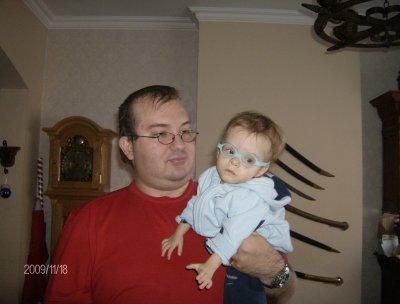 Luka et son papa