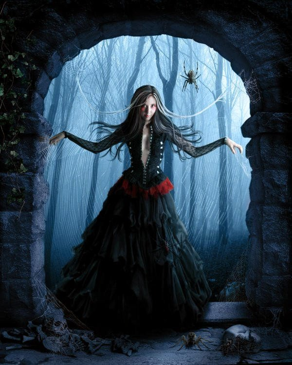 Goth(toile d'arraigner)
