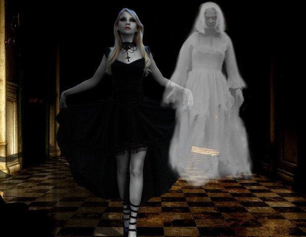 La gauth et son fantome.