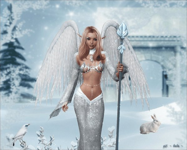 Un belle ange pour vous mes ami(e)s