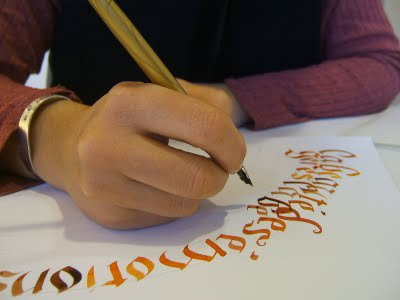 Les prochains ateliers calligraphie