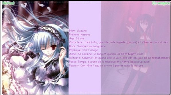 Salut les petits vampires! J'ai un petit sondage pour vouuuus! ~ :3 ♥