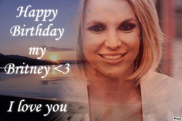 Joyeux anniversaire ma Britney <3 33 ans déjà :D