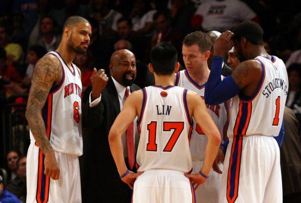 New York Knicks come back