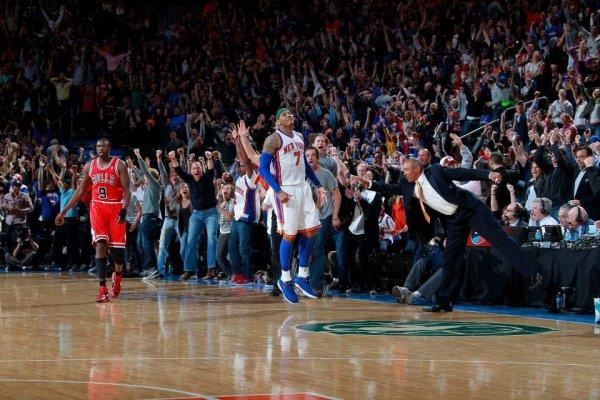 Let's go Knicks Beat the Heat