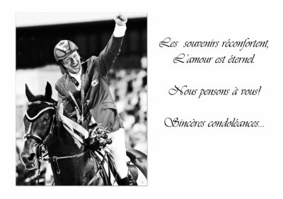 hickstead un grand champion nous a quitter hier