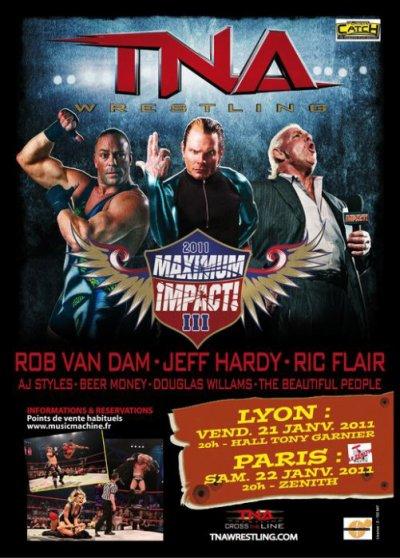 La TNA de retour en France en Janvier 2011 !