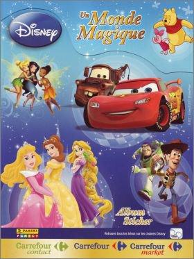 Disney : Un Monde Magique - Sticker album - Carrefour aout 2011