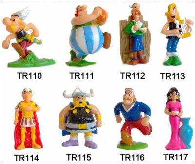 Astérix et Obélix au service de sa majesté - TR110 à TR117
