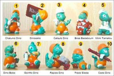 Drolly Dinos - (figurines Kinder Surprise)