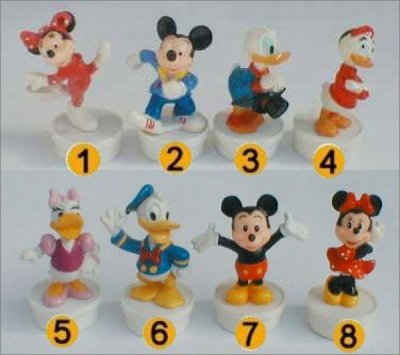 Mickey et ses Amis - Toppers Smarties - Disney