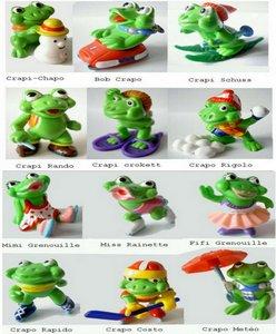 Mini Splash - Grenouilles (figurines Kinder Surprise)