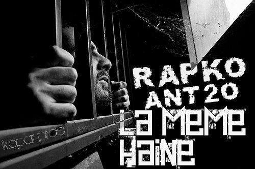 licence poetique / rapko feat ant2o  la meme haine  by kopar prod (2012)