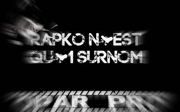 si c'etait a ne pas refaire / rapko n'est qu'un surnom (2014)
