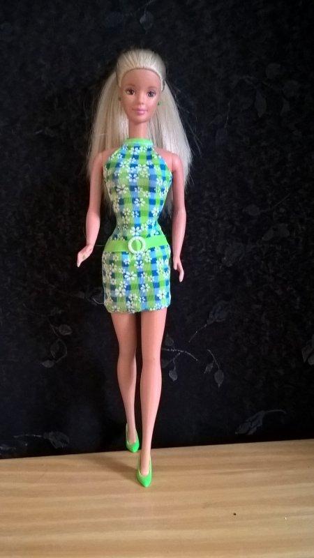 barbie pretty in plaid