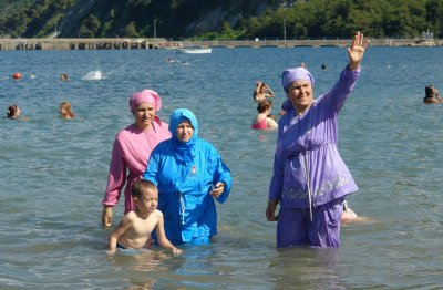 L'interdiction du port du burkini