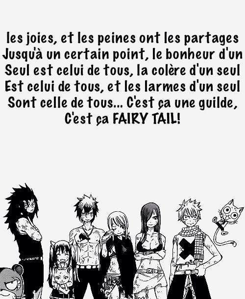 La véritable identité de Fairy Tail ❤
