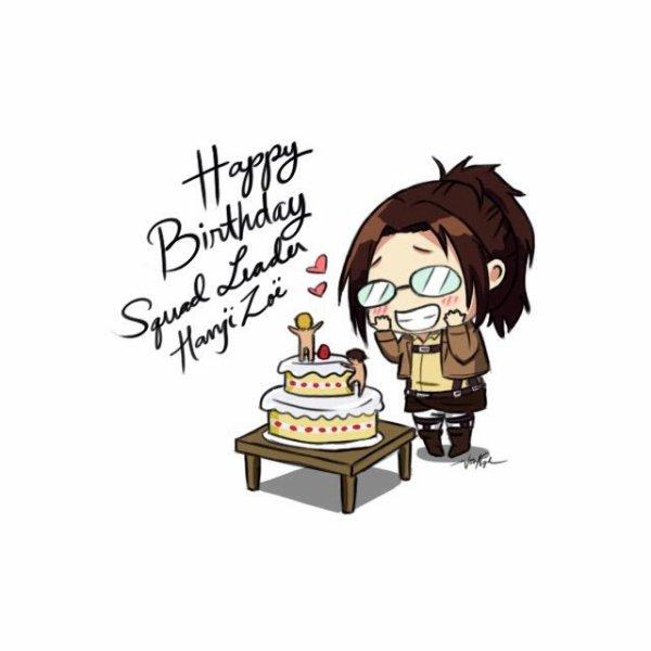Joyeux anniversaire Hansi !! ^^