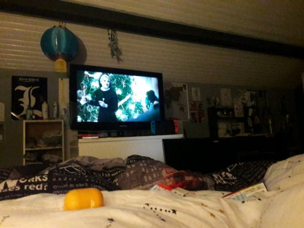 Posey devant American Horror Story pour la nouvelle année x)