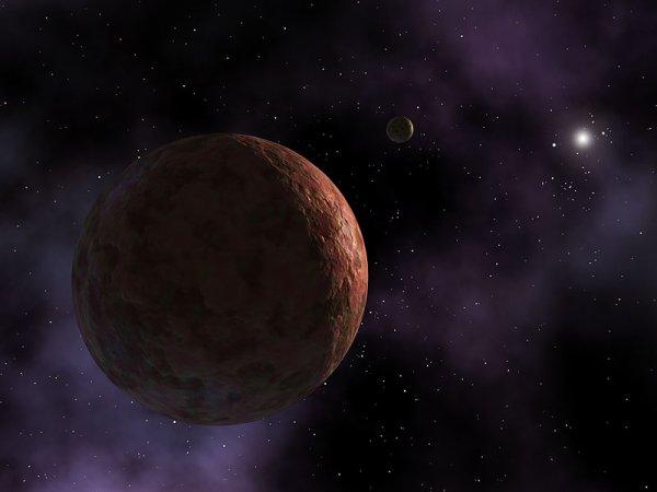 La ceinture de Kuiper occupe une région énorme d'espace, environ 30-50 AU du Soleil. Il contient un nombre(numéro) énorme de rocheux et métallique