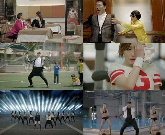 PSY dévoile le MV de « Gentleman »