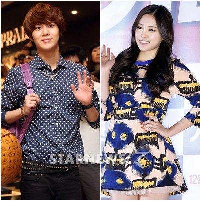 Taemin (SHINee) et Na Eun (A-Pink) se sont mariés pour « We Got Married »