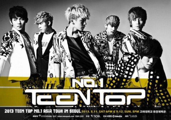Teen Top prévoit la sortie d'une réédition de l'opus « No.1 »