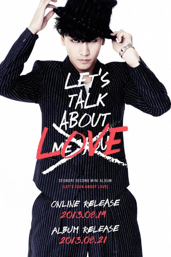 Seung Ri (BIGBANG) dévoile la tracklist de son second mini-album solo