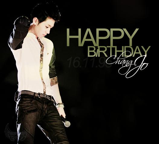 Happy Birthday CHANGJO ♥