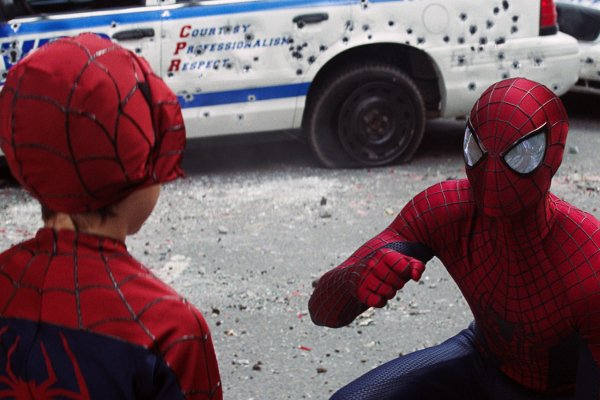 De Nouvelles Photos Pour THE AMAZING SPIDER-MAN 2