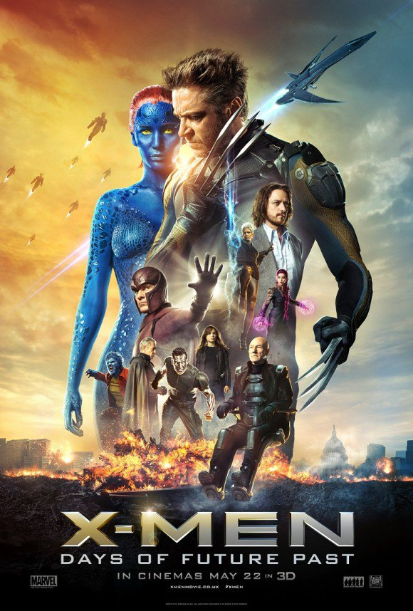 Un Nouveau Poster Pour X-MEN: DAYS OF FUTURE PAST