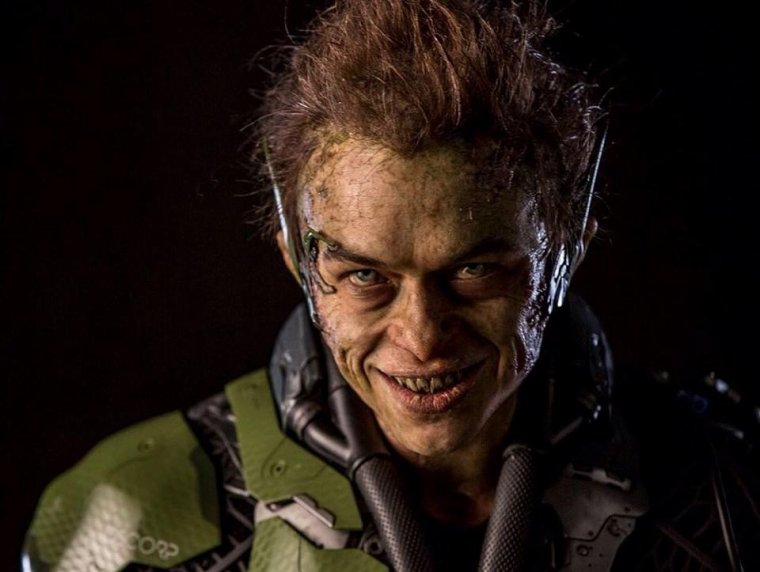 Une Nouvelle Photo Du Bouffon Vert Dans THE AMAZING SPIDER-MAN 2