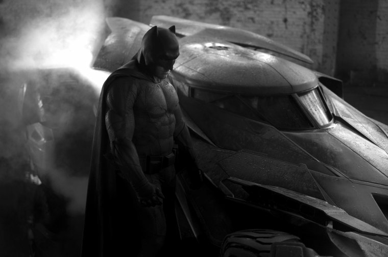 BATMAN VS. SUPERMAN : Ben Affleck Dans Le Costume Du Chevalier Noir !
