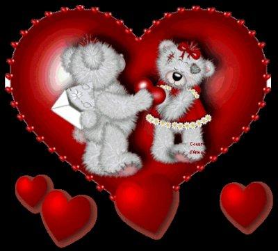 : coeur d'amour je t'aime