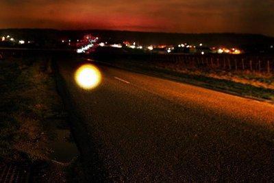 Observation d'OVNI sur la RD6 en 2009