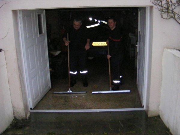 Inondation dans une maison