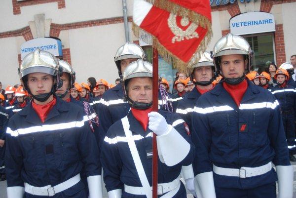 Congrès departemental des sapeurs pompiers de la Marne 14 avril 2012 à VERTUS