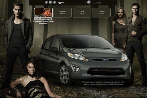 Ford utilise Vampire Diaries