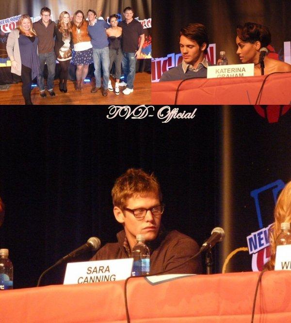 Le Cast de Vampire Diaries au Comic Con