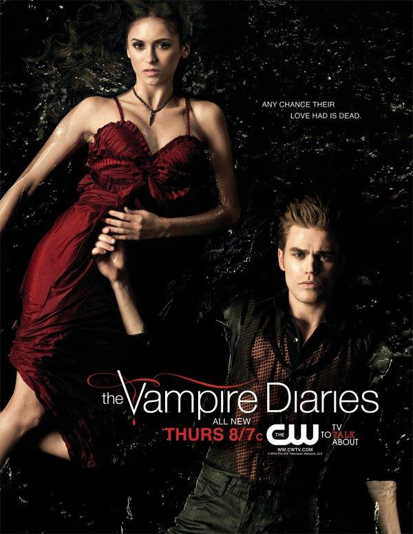 Saison 2 – Un poster exclusif d'Elena & Stefan !