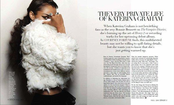 Katerina Graham pour Genlux Magazine