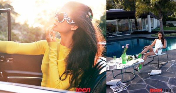 Nina Dobrev - Teen Vogue avril 2011