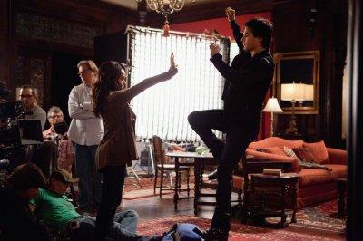 Deux photos de tournage pour « The Last Dance » !